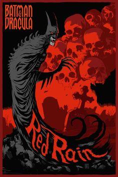 Batman and Dracula: Red Rain by Francesco Francavilla