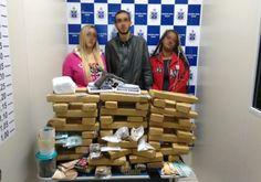 DE OLHO 24HORAS: Polícia prende três e apreende 80kg de maconha em ...