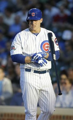 Anthony Rizzo, Chicago Cubs (I know I know. But he is gorgeous and a great player!!)