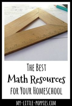 The Best Math Resources for Your Homeschool | My Little Poppies Measurement Activities, Counting Activities, Stem Activities, Math Board Games, Math Games, Homeschool Curriculum, Homeschooling, Math Workbook, Math Practices