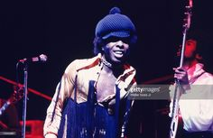 Sly and The Family Stone perform during a concert at Madison Square Garden in 1969 in New York City, New York.