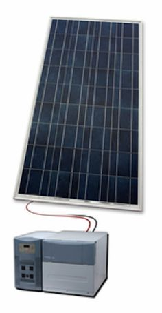 Solar Generator Review including specifications and link to how-to installation video for the solar generator, designed for home use.