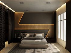 32 Fabulous Modern Minimalist Bedroom You Have To See - Everywhere you look you find things are being updated. The best way to start modernizing in your life is to have a modern bedroom. Bedroom False Ceiling Design, Bedroom Wall Designs, Wardrobe Design Bedroom, Master Bedroom Interior, Luxury Bedroom Design, Salon Interior Design, Modern Master Bedroom, Bedroom Furniture Design, Master Bedroom Design