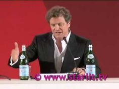 Colin Firth speaking Italian at Venice Film Festival - YouTube- everything this guys does is sexy