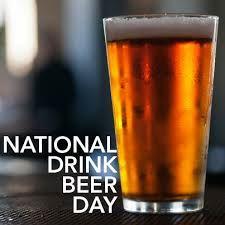 September 28  National Drink Beer Day