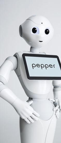 Here's what happens when a salty journalist meets Pepper the humanoid...