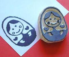 matrioska stamp