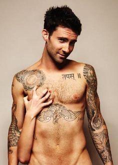 Adam Levine....da- Amn!!!