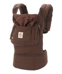 Take a look at this Dark Chocolate Organic Carrier on zulily today!