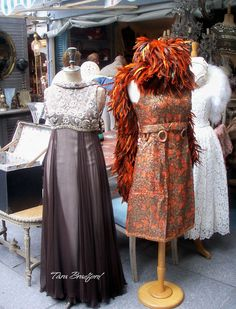 the charm of vintage clothing