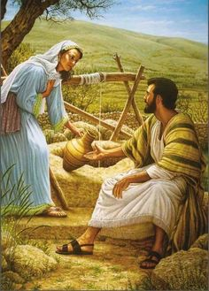 """43. """"The priest of Midian had seven daughters: and they came and drew water, and filled the troughs to water their father's flock. The shepherds came and drove them away: but Moses stood up and helped them., and watered their flock. Exodus 2:16-17 Zipporah"""