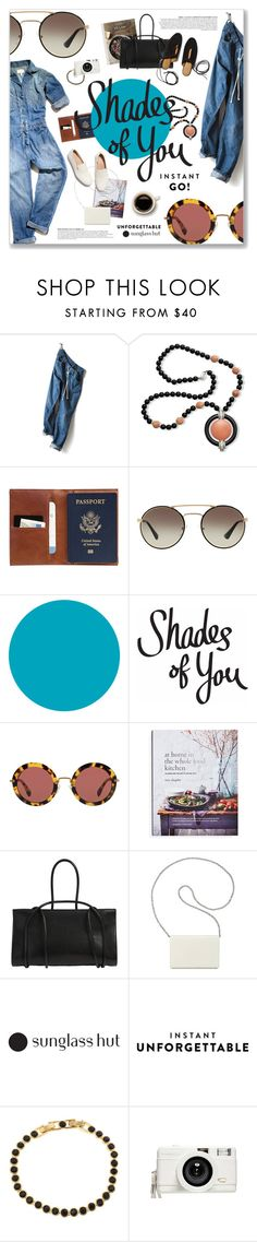 """""""Shades of You: Sunglass Hut Contest Entry"""" by blendasantos ❤ liked on Polyvore featuring Kenneth Jay Lane, This Is Ground, Prada, Miu Miu, Anja, Ann Demeulemeester, Nine West, FEIT, Rosetta Getty and Lucent"""
