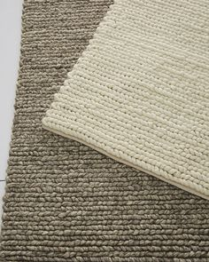 We set foot on this rug and fell in love instantly. The definition of cozy, it looks and feels as fabulous as your favorite sweater. Hand-loomed of luxurious New Zealand wool.