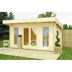 DK´s bedste online priser på hytte, redskabsskur og tilbehør | køb F.eks. Amalie hytte/anneks/kolonihavehus - 12,8 m2 | Hurtig levering