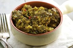 A simple and healthy dinner side-dish.