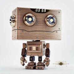 Robotoy | Retro on Behance