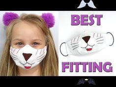 Kids face mask   DIY face mask all sizes   Best fitting mask  <br> Funny Face Mask, Diy Face Mask, Diy Masque, Face Masks For Kids, Child Face, Pattern Pictures, Mask Design, Mask Making, Sewing Patterns Free