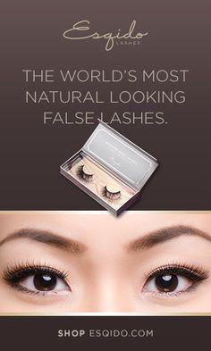 World's Most Natural Looking False Eyelashes