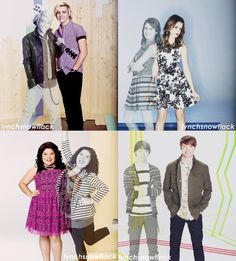 From Season 1 PromoShoot to Season 4 PromoShoot {Beginning to End.. :'( Austin & Ally}