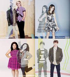 From Season 1 PromoShoot to Season 4 PromoShoot {Beginning to End.. :'( Austin & Ally}