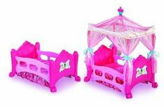 Disney Princess 4-in-1 Dream Canopy Bed, Converts to Crib, Day Bed, Toddler Bed