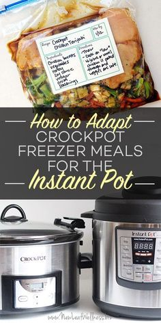 Instant Pots are the rage right now because they cook food FAST. Everyone is busy and needs an easy way to get a healthy meal on the table. Readers asked us for years to convert our crockpot recipes f
