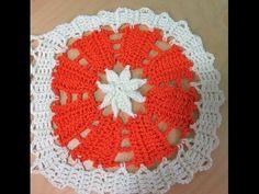 Crochet cuadrado en encaje de bruja para blusa de verano Dalia - con Ruby Stedman - YouTube