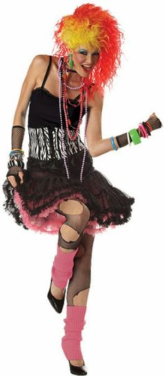 b7b24b828df 1980s Costumes - Retro Decade 80s Costumes
