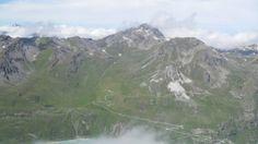 Sasseneire, the east view from Col de Sorebois (2835 m).