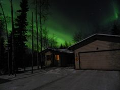 The aurora was blazing Friday night (Nov. 23, 2012) out in North Pole! Was glad I timed it good to get out and get a few good shots!  —Kevin Thompson, North Pole, Alaska