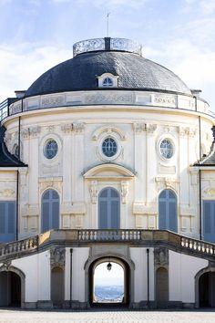 Castle Solitude in Stuttgart~Germany, was built as a hunting lodge between 1764 and 1769 under Duke Karl Eugen of Württemberg.