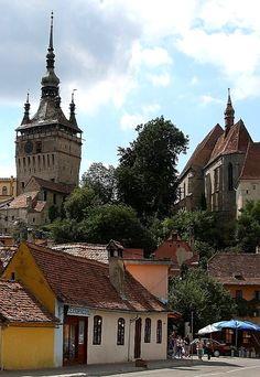 Sighișoara medieval town, Transylvania, Romania