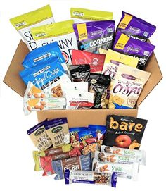 Healthy Snacks To Go Box (30 count) ** For more information, visit image link. (This is an affiliate link) #healthysnackforcollegestudents