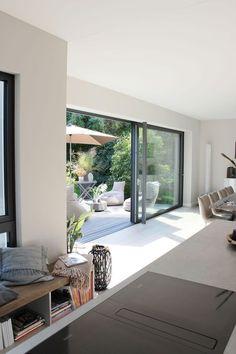 Interior Architecture, Interior Design, Modern House Design, Home And Living, Home Furniture, New Homes, Patio, Home Decor, Minecraft Mobile