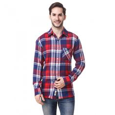 Buy Checked Brush Twill Casual Shirt Online at Low prices in India on Winsant  #shirts #casualshirt #mensfashion #fashionblogger #fashion #style #winsant #pinterestmarketing #pinterest Formal Shirts, Casual Shirts For Men, Men Casual, Mind The Gap, Online Shopping Websites, Men Shirt, Trouser Jeans, Fabric Online, Daily Wear