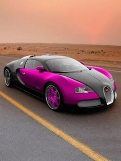 If you are going to buy a car this expensive and this fast....it better not be pink!