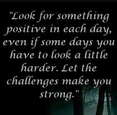 Positive quote to persevere