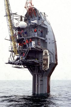 The Flip Ship (Floating Instrument Platform) is a unique Research Ship created by the US Navy in collaboration with the Marine Physical Laboratory in the year 1962. Description from pinterest.com. I searched for this on bing.com/images