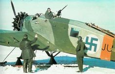 A Finnish Junkers K 43fa. February 1942. This was the military version of the Junkers W43. While the K43/W43 is not a very well known plane from the 1920s, the Luftwaffe used these throughout World War II as trainers and transports. The Finns only...