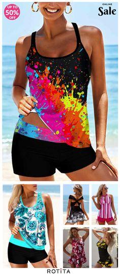 Summer Beach Looks, Swim Dress, Cheap Clothes, Head To Toe, Swimsuits, Swimwear, Boho Dress, Tankini, Bathing Suits