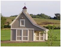 Hobby Barn with Loft Office This site has actual architectural