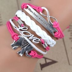 Elephant Inspired Pink Love Bracelet Brand New in packaging! Jewelry Bracelets