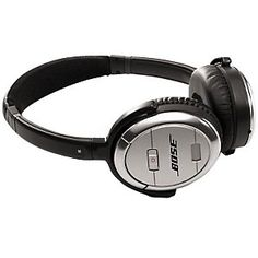 Bose® QuietComfort® Noise Cancelling® QC3 Acoustic Over-Ear Headphones, Silver - 300 from John Lewis