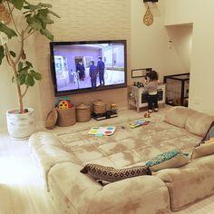 Living Room Paint, Living Room Decor, Home Room Design, House Design, Home Cinema Room, Japanese Home Decor, Colourful Living Room, Classic Living Room, Relaxation Room