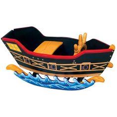 Pirate Ship Rocking Chair