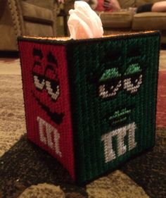 M and m tissue box 2