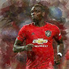 Paul Pogba - Man Utd by realdealluk on DeviantArt Manchester United Wallpapers Iphone, Soccer Teams, Paul Pogba, Manchester United Football, Sports Art, The Unit, Deviantart, Club, Manchester United Soccer