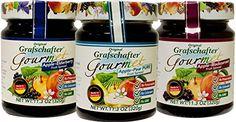 Grafschafter: Gourmet Fruit Spreads 3 Pack (Apple-Blackcu…