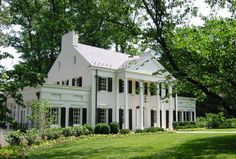 Chevy Chase MD architect neoclassical architecture home addition white house pillars
