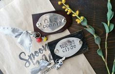 Bonnie and Clyde, Spoon Keychain, Upcycled Silverware, Hand Stamped, Handmade Gift, Best Friend, Gift, Handstamped, Ride or Die by SpoonMeMaryland on Etsy